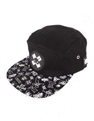 CREEPZ 5-PANEL X-BLACK