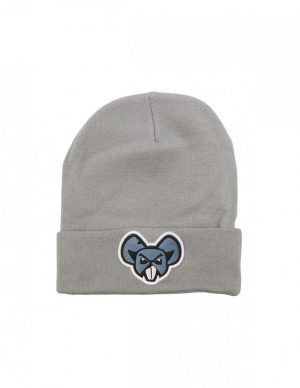 BEANIE MOUSE LIGHT GREY