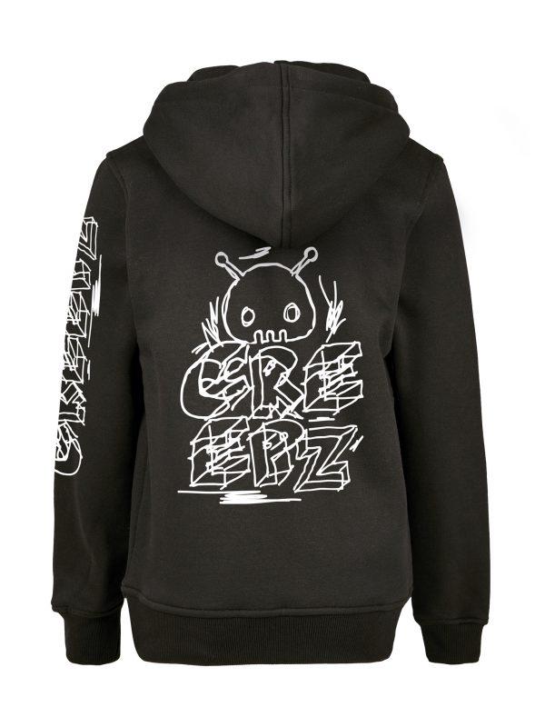 Creepz Bad Marker Hoodie Adult Black
