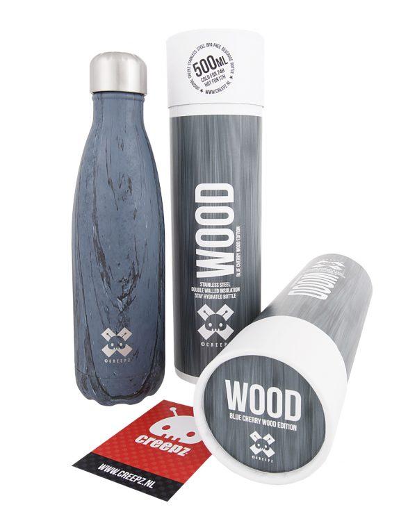 Creepz Bottle Blue Cherry Wood Edition 500 ML