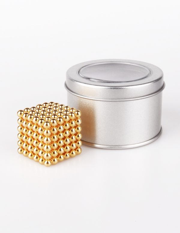 Neocube Magnets Gold 5mm
