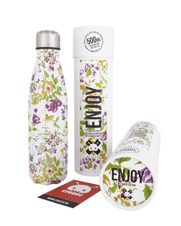 Creepz Bottle Enjoy Flower Edition 500 ML