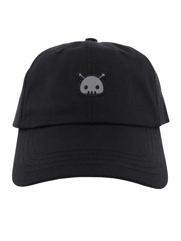 Creepz Dad Cap Reflect Black