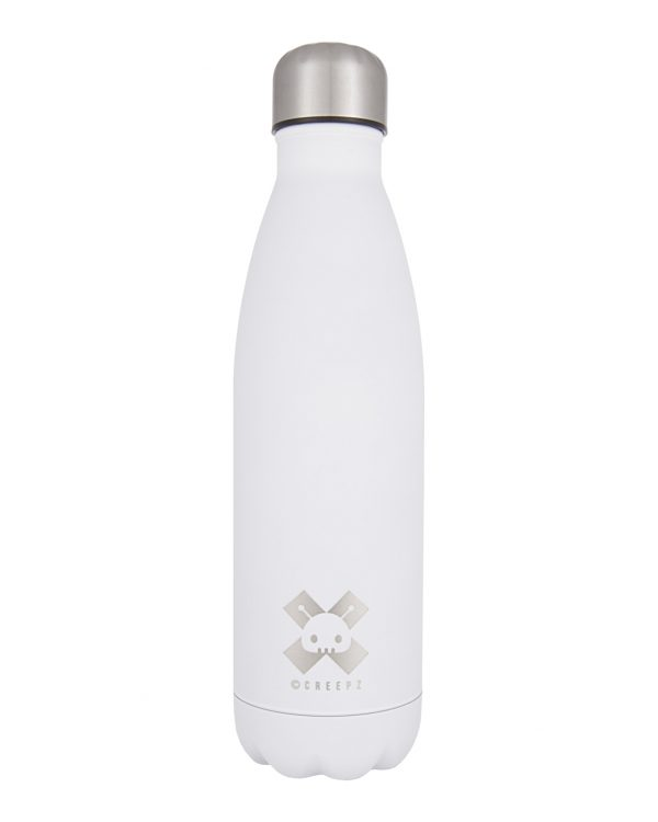 Creepz Bottle White Rubber Coated Edition 500 ML
