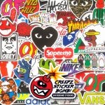Creepz Sticker Bomb Skate & Fashion 100 pcs.