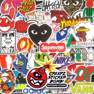 Creepz Sticker Bomb Skate & Fashion 100 pcs.