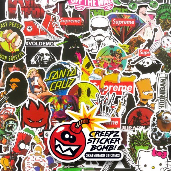 Creepz Sticker Bomb Culture 100 pcs.