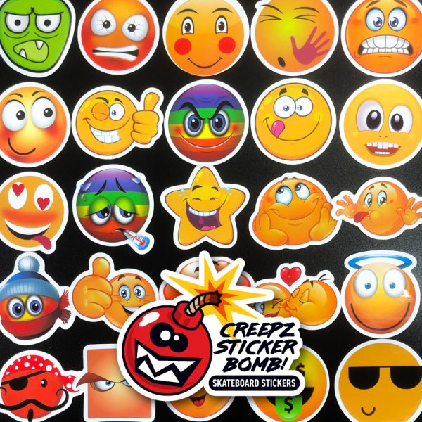 Creepz Sticker Bomb Emoji 50 pcs.
