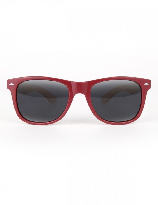 WOOD-PLASTIC SUNGLASSES INWARD