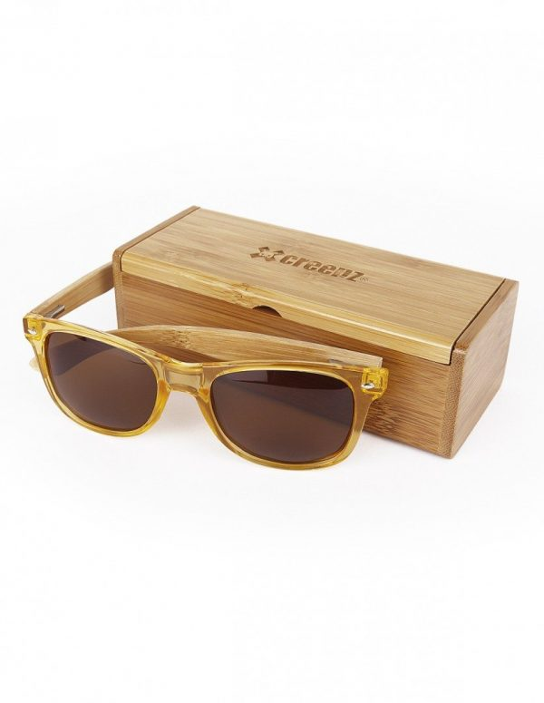WOOD-PLASTIC SUNGLASSES KICK