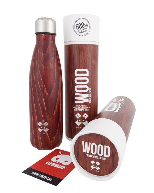 Creepz Bottle Padock Wood Edition 500 ML