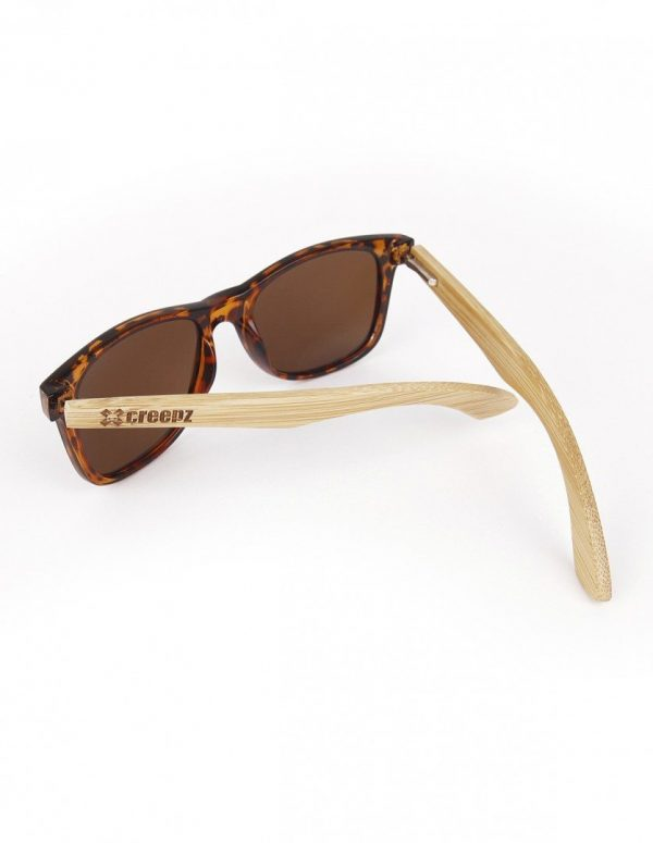 WOOD-PLASTIC SUNGLASSES TWIST