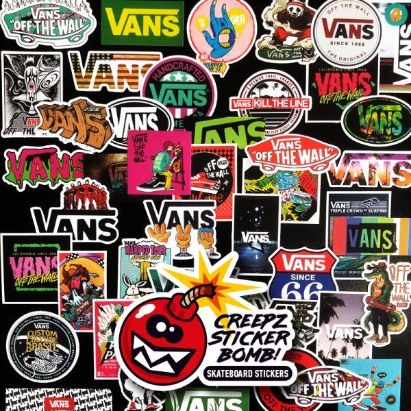 Creepz Sticker Bomb Pure Vans 50 pcs.