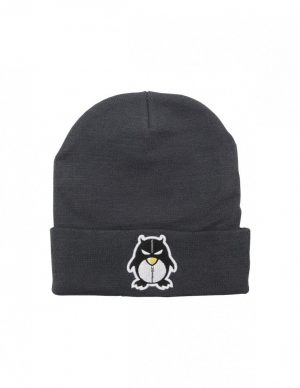 BEANIE ZIPPER DARK GREY