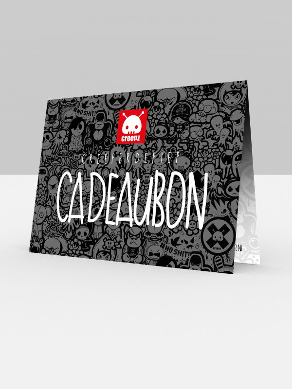 Creepz Cadeaubon 25,- Euro